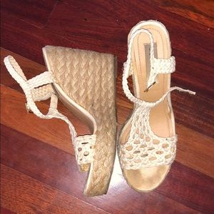 Steve Madden Crochet Wedges